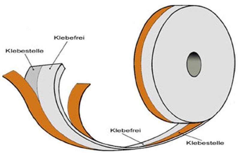 Stuckband Trennband 50mm x 30m X 3mm Trockenbau Trennstreifen Trockenbau